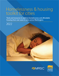 Cover of Homelessness and Housing Toolkit for Cities