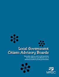 Cover of Local Government Citizen Advisory Boards