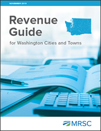Cover of Revenue Guide for Washington Cities and Towns
