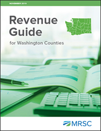 Cover of Revenue Guide for Washington Counties