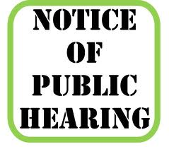 Public Hearings -- How Much Notice Is Required?