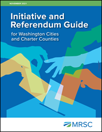 Cover of Initiative and Referendum Guide for Washington Cities and Charter Counties