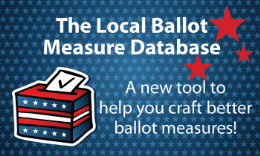 What Makes A Successful Ballot Measure? A Look at the Data
