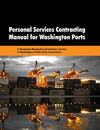 Cover of Personal Services Contracting Manual for Washington Ports