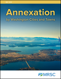 Cover of Annexation by Washington Cities and Towns