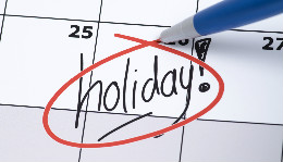What's the Deal with Holidays?