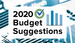 2020 Budget Suggestions is Here!