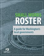 Cover of Small Works Roster: A Guide for Washington's Local Governments