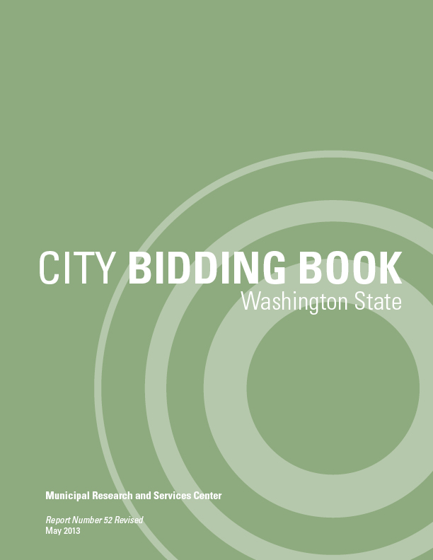 Announcing Our Newly Revised Publication: City Bidding Book