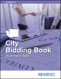 Cover of City Bidding Book - Washington State